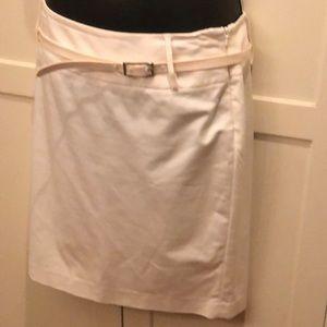 White skirt from Rafaella size 10 p